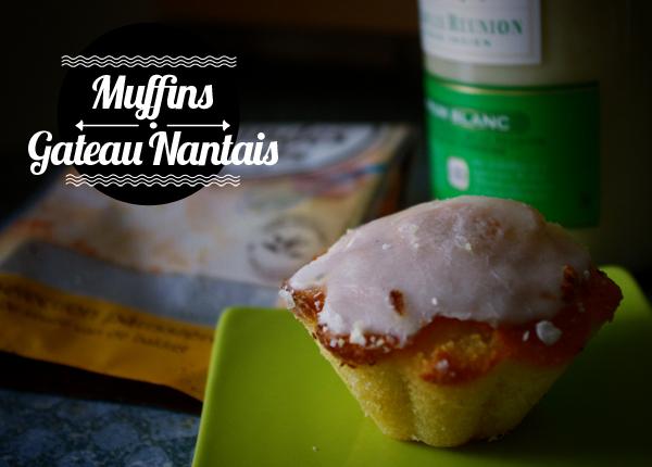 {Miam!} Muffins Gâteau Nantais