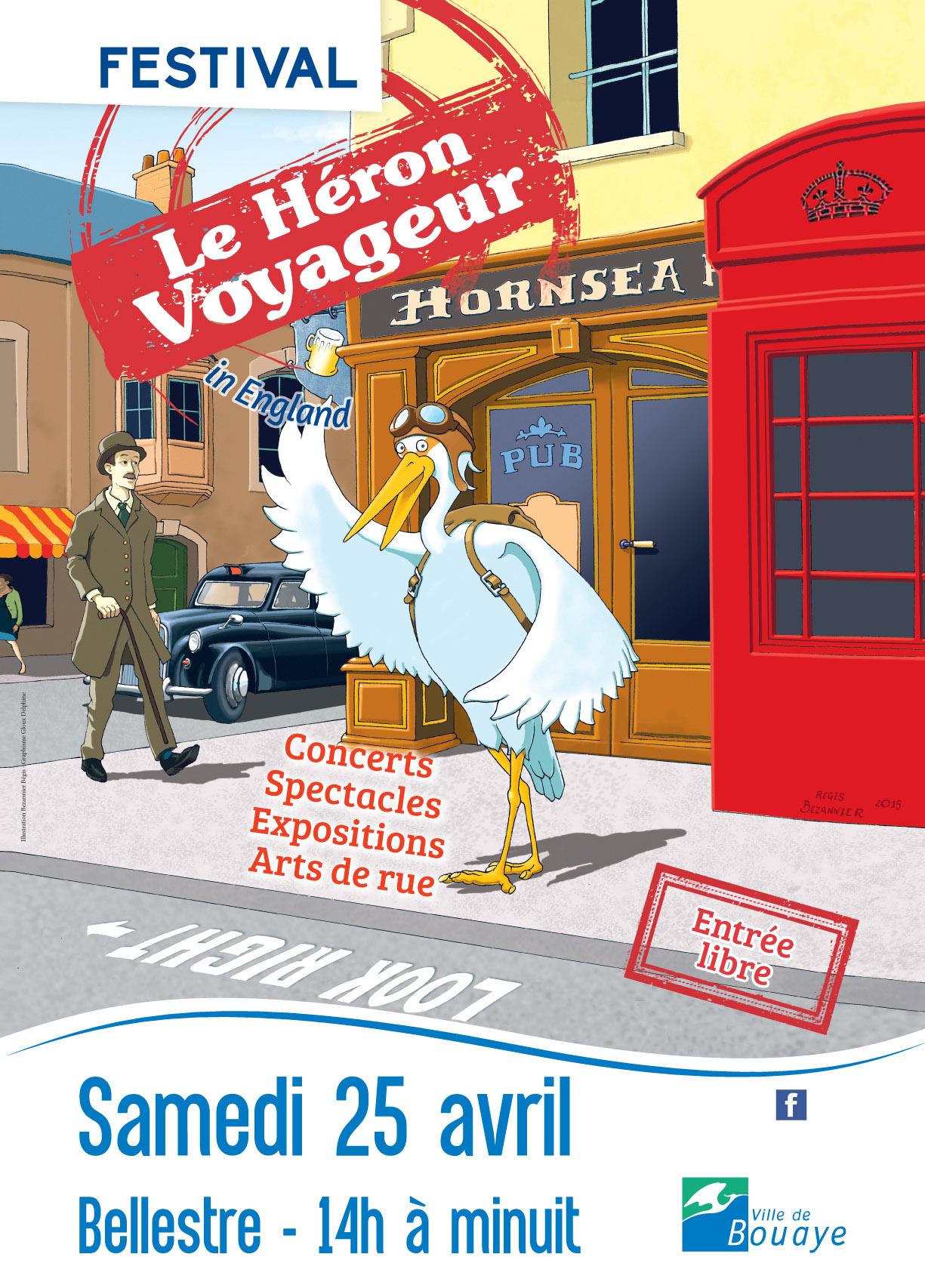 affiche festival le heron voyageur 2015