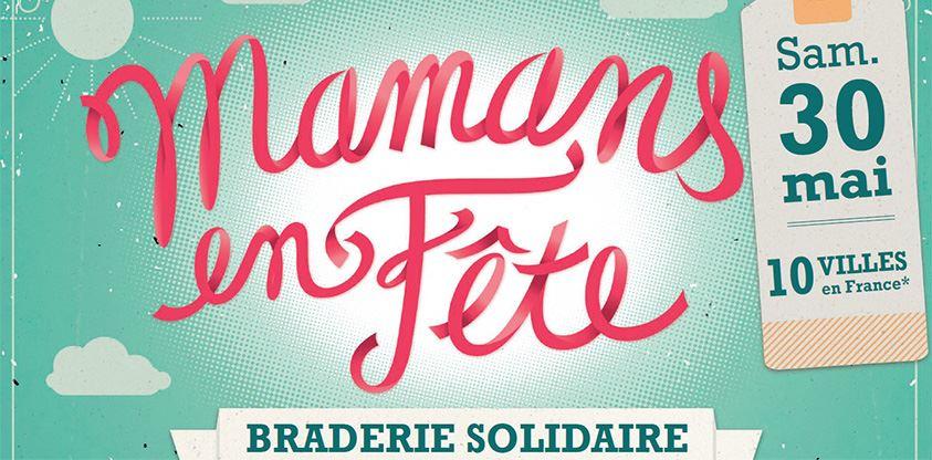 Braderie Solidaire à Nantes : Mamans en Fête